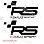 Pegatina RS Renault Sport
