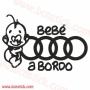 Bebe a Bordo Audi
