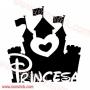Torres de la Princesa Disney 60x62cm