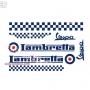 Kit pegatinas Lambretta