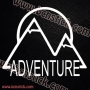 Pegatinas Camper montaña Adventure