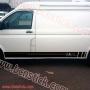 Linias laterales - Volkswagen Transporter T5 Mutivan