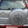 Rosa de viento 60x60cm coche 4x4