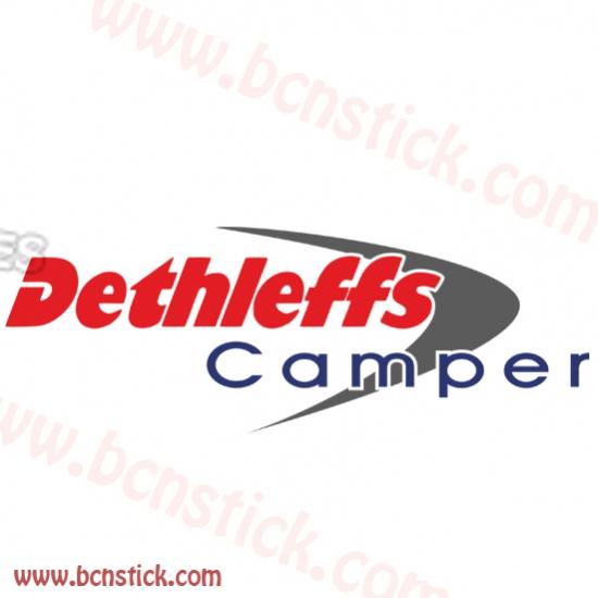 Pegatina de vinilo DETHLEFFS CAMPER