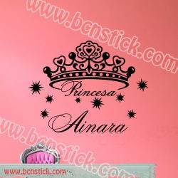 Corona de la Princesa 100x77cm
