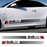 Pegatinas laterales Audi Quattro