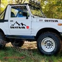"""Kit vinilos Suzuki """"Santana"""""""