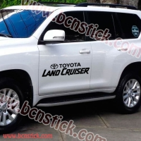 Kit TOYOTA LAND CRUISER (75x20cm por lateral)