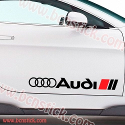 Kit lateral Audi 60x7cm cada lateral