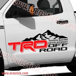 Toyota TRD Off-Road dos laterales 75x27cm