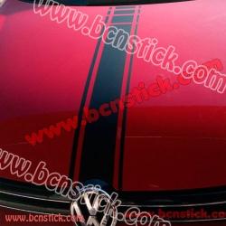 Kit de pegatinas laterales y para capot Volkswagen (Universal)
