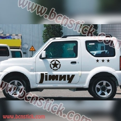 Pegatinas de vinilo SUZUKI Jimny