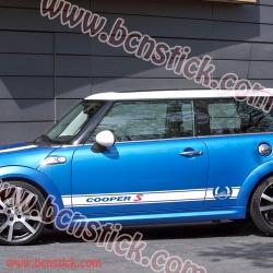 BMW Mini Cooper linias laterales