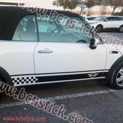 """Conjunto de """"BMW Smart"""" linias laterales + y capó"""