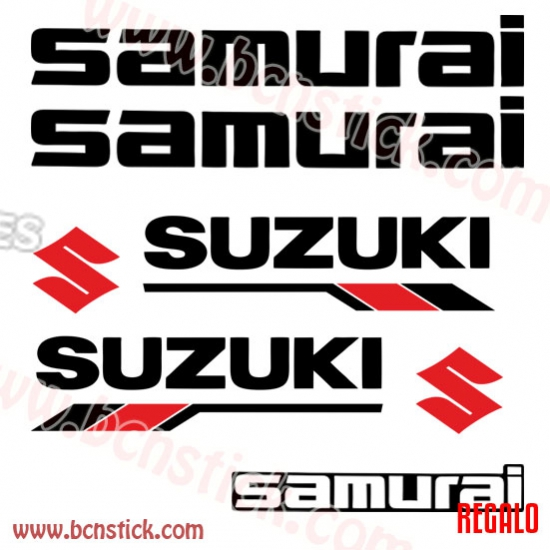 Kit de vinilos Suzuki Samurai