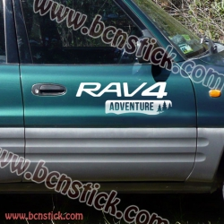 "Kit pegatinas Toyota RAV 4 ""Adventure"""