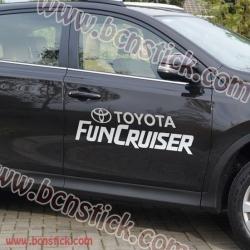 """Kit pegatinas Toyota RAV 4 """"Fan Cruiser"""""""
