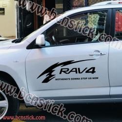 "Kit pegatinas Toyota RAV 4 ""Tribales"""