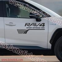 "Kit pegatinas Toyota RAV 4 ""Sport OFF Road 4WD"""