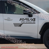 "Kit pegatinas Toyota RAV 4 ""Sport OFF Road 4WD"""