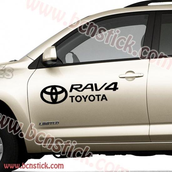Kit pegatinas Toyota RAV 4