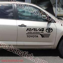 "Kit pegatinas Toyota RAV 4 ""Sport"""