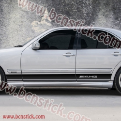 Kit pegatinas linias laterales Mercedes-Benz Clase E - AMG