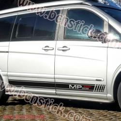 "Kit vinilos laterales ""Mercedes V Marco Polo"""