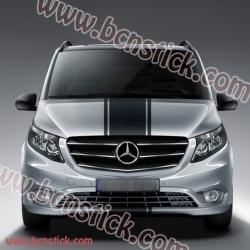 Pegatina de vinilo para el capó Mercedes V Marco Polo