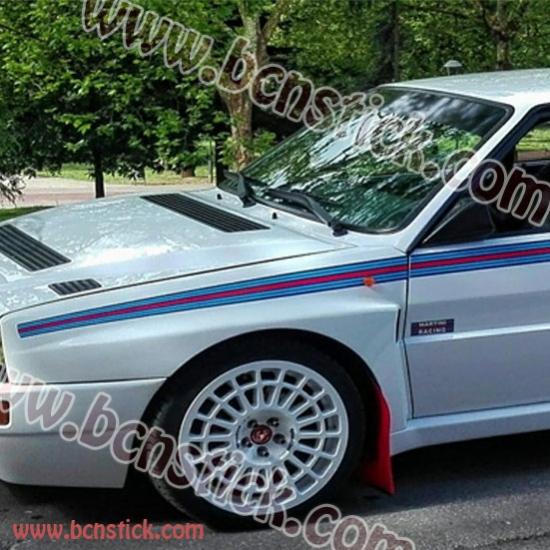 """Kit de linias laterales """"Martini Racing"""" - Lancia Delta Evoluzione 1992"""