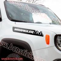 "Pegatina capó lateral ""Jeep Wrangler"""