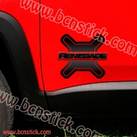 Pegatinas laterales JEEP RENEGADE