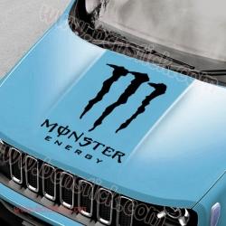 Pegatina para capó Monster Energy