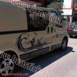 """Kit de vinilos """"Pescadero"""" Renault Trafic"""