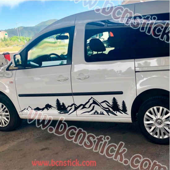 "Kit laterales para furgoneta ""Paisaje"""