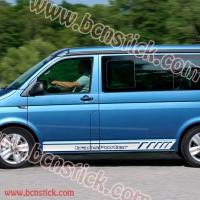 "Kit de vinilos laterales ""Volkswagen Transporter"""