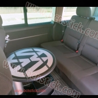Pegatina mesa plegable Volkswagen