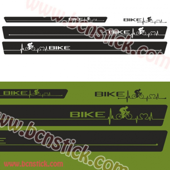 "Kit de linias universal ""CICLISMO"" 232x18cm"