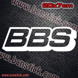 "2x Vinilos logos Racing ""BBS"""