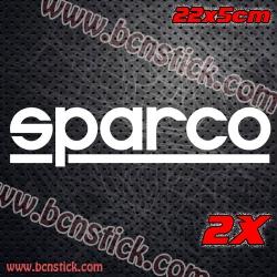 Kit 2x pegatinas de racing SPARCO