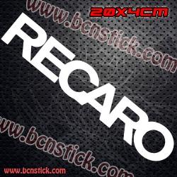 """2x Logos de """"RECARO"""""""