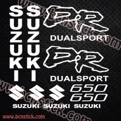 Pegatinas Suzuki DR 600