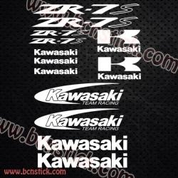 Pegatinas Kawasaki ZR-7s