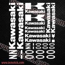 Pegatinas Kawasaki Z 1000