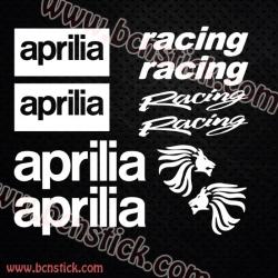 Pegatinas aprilia racing