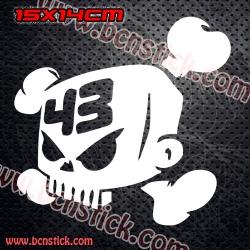 2x Logo Calavera 43