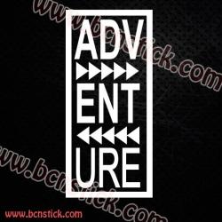 Pegatina Adventure