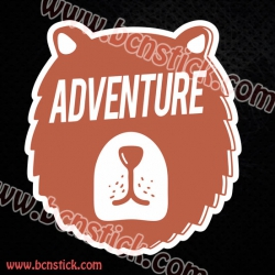 Pegatina OSO Adventure