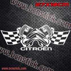 "Logo ""CITROEN RACING"""