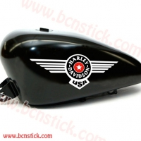 Kit pegatinas deposito Harley Davidson USA